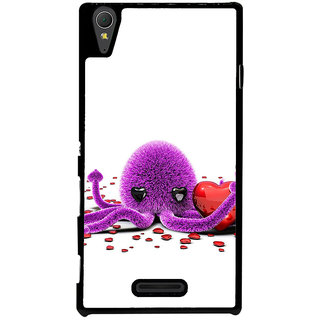 Ayaashii Octopus Back Case Cover for Sony Xperia T3