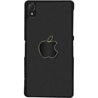 Ayaashii Apple Logo In Matte Finish Back Case Cover for Sony Xperia Z3::Sony Xperia Z3 D6653 D6603