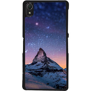 Ayaashii Snow Mountain Back Case Cover for Sony Xperia Z3::Sony Xperia Z3 D6653 D6603