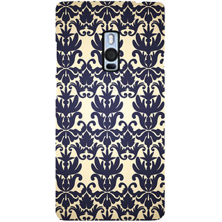 Ayaashii Floral Design Pattern Back Case Cover for One Plus Two::One Plus 2::One+2