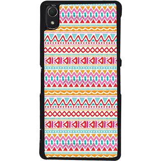 Ayaashii Azetec Design Back Case Cover for Sony Xperia Z2::Sony Xperia Z2 L50W D6502 D6503
