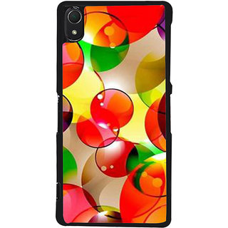 Ayaashii Ball Shaded Design Back Case Cover for Sony Xperia Z2::Sony Xperia Z2 L50W D6502 D6503