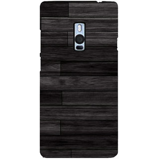 Ayaashii Wooded Layered Pattern Back Case Cover for One Plus Two::One Plus 2::One+2