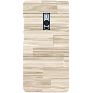 Ayaashii Wood Layerd  Back Case Cover for One Plus Two::One Plus 2::One+2