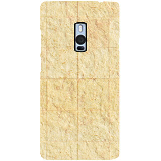 Ayaashii Square Cuts Marbels Back Case Cover for One Plus Two::One Plus 2::One+2