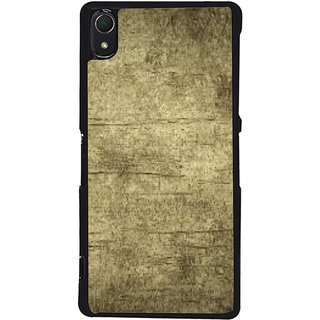 Ayaashii Old Faded Wood Back Case Cover for Sony Xperia Z2::Sony Xperia Z2 L50W D6502 D6503