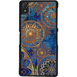 Ayaashii Circle Rangoli Pattern Back Case Cover for Sony Xperia Z2::Sony Xperia Z2 L50W D6502 D6503