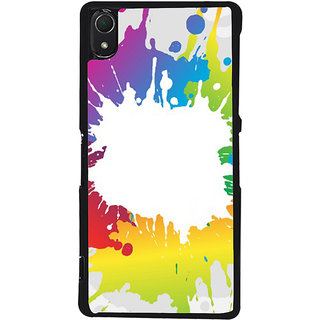 Ayaashii Colors Spread Back Case Cover for Sony Xperia Z2::Sony Xperia Z2 L50W D6502 D6503