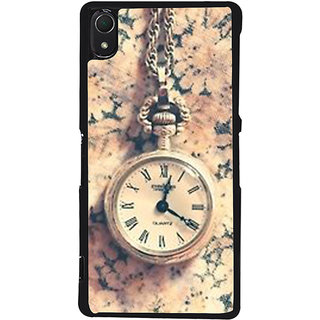 Ayaashii Chain Watch Back Case Cover for Sony Xperia Z3::Sony Xperia Z3 D6653 D6603
