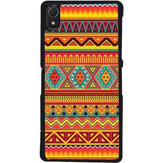 Ayaashii Tribal Pattern Back Case Cover for Sony Xperia Z3::Sony Xperia Z3 D6653 D6603