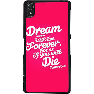 Ayaashii Dream Forever Die Back Case Cover for Sony Xperia Z3::Sony Xperia Z3 D6653 D6603