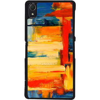 Ayaashii Colorful Painting Back Case Cover for Sony Xperia Z3::Sony Xperia Z3 D6653 D6603