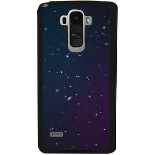 Ayaashii Stars Pattern Back Case Cover for LG G4 Stylus