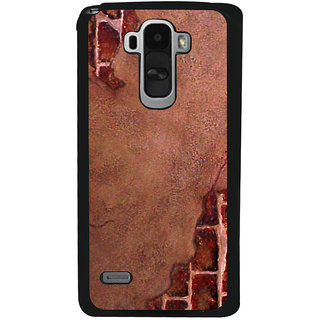 Ayaashii Rock Pattern Back Case Cover for LG G4 Stylus