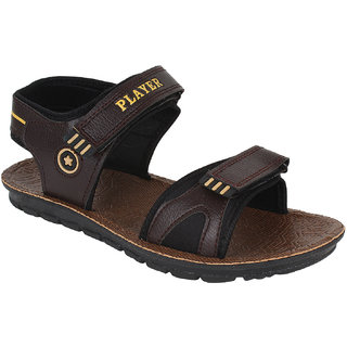 Bersache Men/Boys Brown-938 Sandal Floater