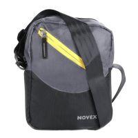 Novex Fern Grey Messenger Bag