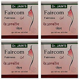 Dr. Jain'S Faircom Fairness Gel - 100G (Set Of 4)