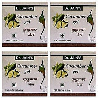 Dr. Jain'S Cucumber Gel - 100G (Set Of 4)
