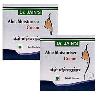 Dr. Jain'S Aloe Moisturiser Cream - 100G (Set Of 2)