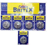 Britex Steel Scrubber (Pack of 5)