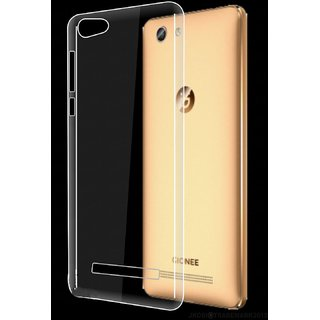 Gionee F103 pro transperent back cover