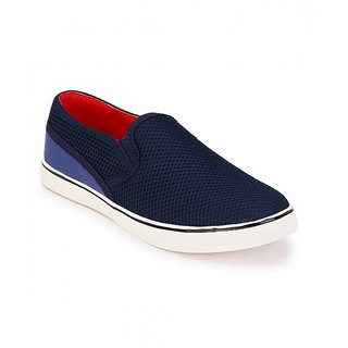 Jacs Blue Slip-on Shoes