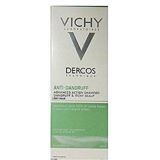 Vichy Dercos Anti-Dandruff Treatment Shampoo For Dry Hair, 200Ml