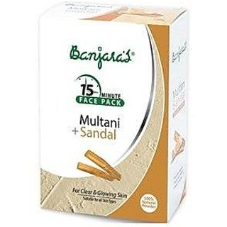 Banjara Multani With Sandal (100G) (Pack Of 3)