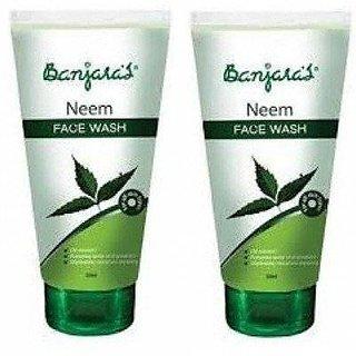 Banjara Neem Face Wash (100G) (Pack Of 2)