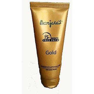 Banjara'S 15 Minutes Gold Face Pack, 50G