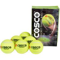 Cosco Cricket Tennis Ball Light Weight (pack of 6)