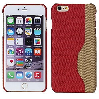 iPhone 6 Plus/6s Plus 5.5 inch Case WIITOP Phone Back Cases Gu Chiwen PU Leather with a Credit Card Slot Hit Color Red