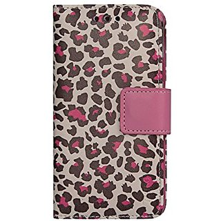 Reiko 3 in 1 with Leopard Pattern Wallet Case for iPhone 6 4.7