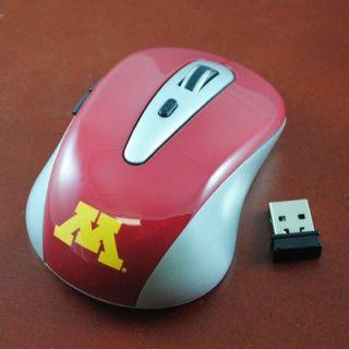 NCAA Minnesota Gophers Wireless Mouse