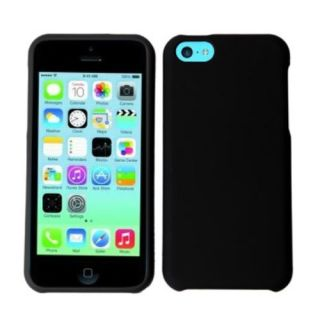 Decoro Apple Decoro Brand Premium Protector Case for iPhone 5C - Retail Packaging - Rubber Black