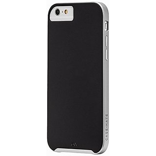 Case-Mate iPhone 6 Slim Tough - Black/Silver