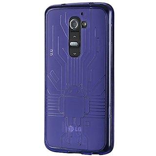 Cruzerlite Bugdroid Circuit Case for LG G2 - Retail Packaging - Purple