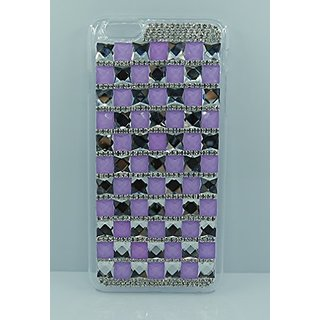 Crystal Fashion Crystal Studded Hard Shell Cover for iPhone 6 Plus (5.5