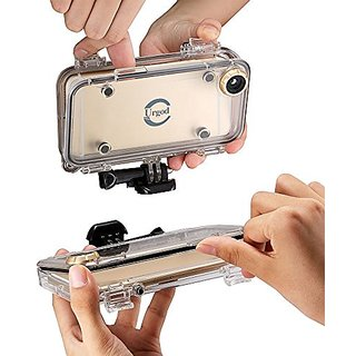 Urgod iPhone 6/6S Case: WaterProof, ShockProof, GoPro Accessories Compatible,with 170 Degrees Wide Angle Lens