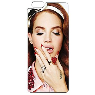 Lana Del Rey iphone 6 Plus Back Cover, Protective Snap On Case Skin TPU For iphone 6 Plus & iPhone 6S Plus (5.5 inch)