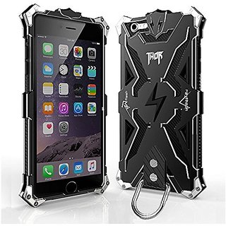 Iphone 6 6s plus Case, bpowe Hollow Design Full Signal Thor Case, Aviation Aluminum Anti-scratch Strong Protection Metal