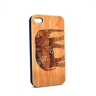 Krezy Case Real Wood iPhone 5s Case, Elephant iPhone 5s Case, Wood iPhone 5s Case, Wood iPhone Case