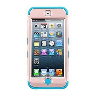 MyBat Cell Phone Case for Apple iPod Touch (5th/6th Generation) - Retail Packaging - Gold/Teal