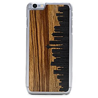 CARVED Seattle Skyline Inlay iPhone 6/6s Plus Slim Clear