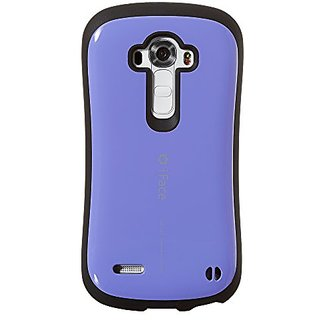 iFace TPU Cell Phone Case for LG G4 - Retail Packaging - Purple