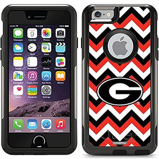 Coveroo Commuter Series Case for iPhone 6/6s - Retail Packaging - Georgia Lined Chevron Design