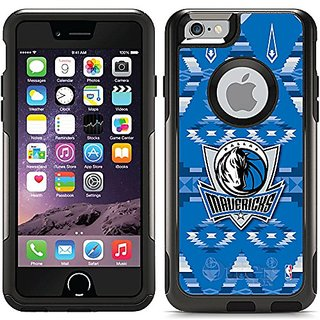 Coveroo Dallas Mavericks Tribal Print Design Phone Case for iPhone 6 - Retail Packaging - Black