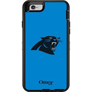 OtterBox DEFENDER iPhone 6/6s Case - Retail Packaging - NFL PANTHERS
