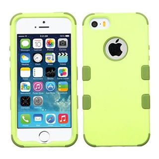 MyBat Cell Phone Case for Apple iPhone 5s/5 - Retail Packaging - Green/Olive