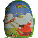 Angry Birds School Bag For Kids In Green